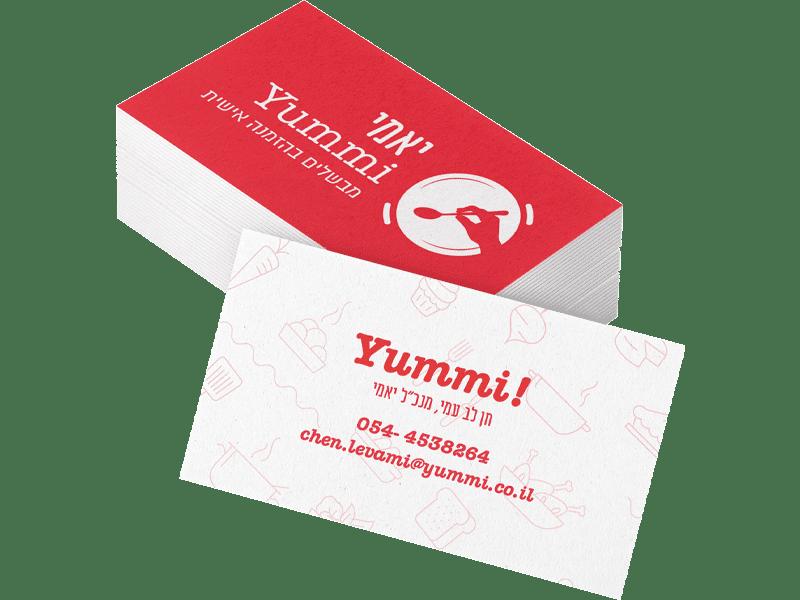 h2o pure design business design yummi bcard